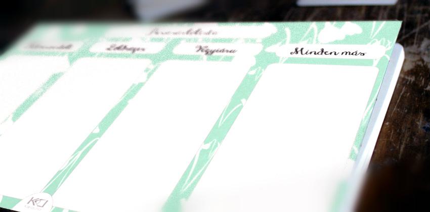 otthon nyomtatható bevásárlólista