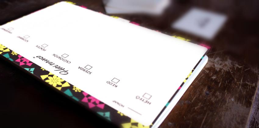 Heti tervező, rendező – ingyenesen nyomtatható