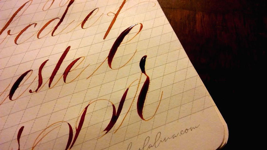 buzogany dezso kalligrafia copperplate