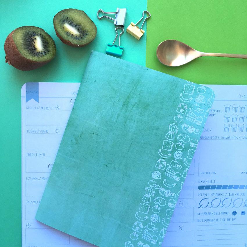 régebbi jóllét napló kiwi zöld